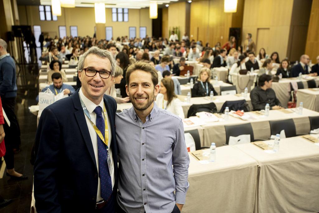 Dres. Óscar Alonso y Oliver Valencia de Pablo, Presidente y Secretario del Comité Organizador, respectivamente