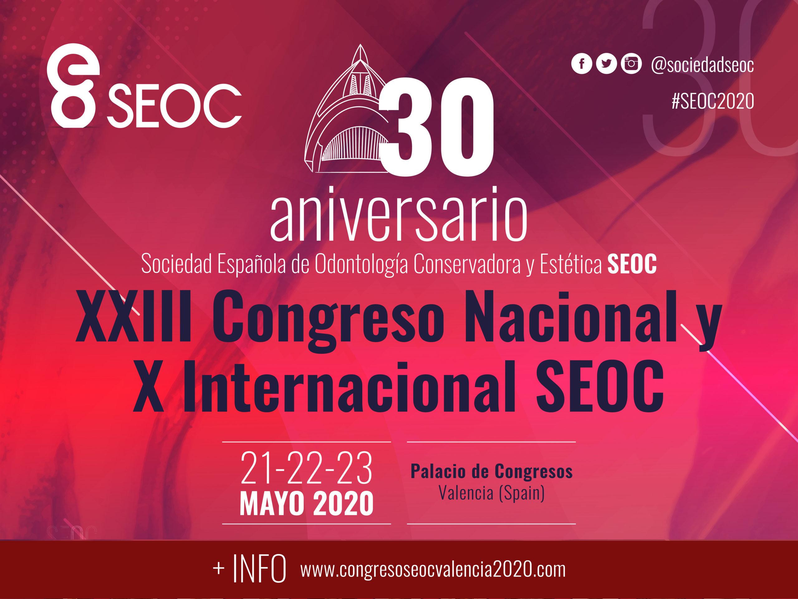 XXIII Congreso Nacional de la Sociedad Española de Odontología Conservadora